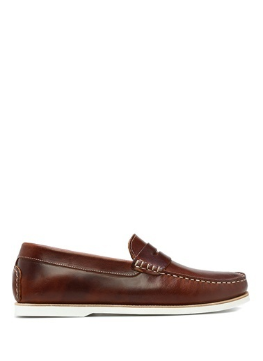 %100 Deri Loafer Ayakkabı-Campobello Shoes